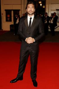Javier Bardem at the Orange British Academy Film Awards.