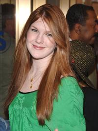 Lily Rabe at the Broadway Opening of