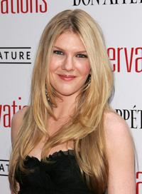 Lily Rabe at the premiere of