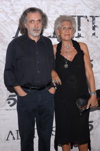 Fernando Trueba and Pilar Bardem at the Madrid premiere of