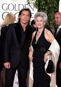 Javier Bardem and Pilar Bardem at the 62nd Annual Golden Globe Awards.