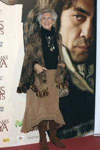 Pilar Bardem at the premiere of
