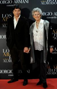 Carlos Bardem and Pilar Bardem at the premiere of