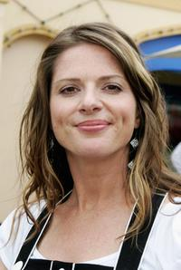 Julia Zemiro at the photo call to launch the Jonathan Coleman Experience on radio WS FM 101.7.