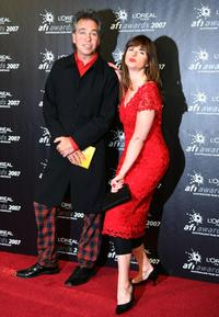 Brian Nankervis and Julia Zemiro at the L'Oreal Paris 2007 AFI Industry Awards.