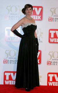 Julia Zemiro at the 50th Annual TV Week Logie Awards.