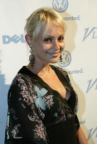 Beatrice Rosen at the V Life's Emmy Nominee Photo Portfolio party.