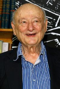 Ed Koch at the Publisher Weekly's celebration party.