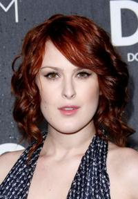 Rumer Willis at the grand opening of the D&G Flagship Boutique.