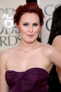 Rumer Willis at the 66th Annual Golden Globe Awards.