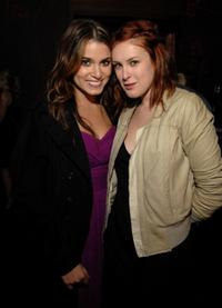 Nikki Reed and Rumer Willis at the HFPA Salute To Young Hollywood Party.