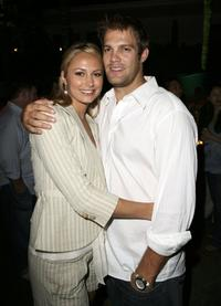 Stacy Keibler and Geoff Stults at the ESPN - The Magazine Presents Summer Fun 2006 party.