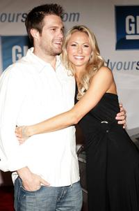 Geoff Stults and Stacey Keibler at the General Motors Ten event.
