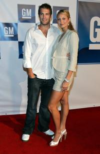Geoff Stults and Stacy Keibler at the 3rd annual GM All-Car Showdown.