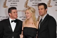 Bryan Greenberg, Laura Prepon and Geoff Stults at the Golden Nymph awards ceremony.
