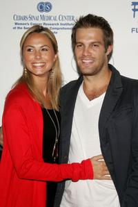 Stacy Keibler and Geoff Stults at the inaugural