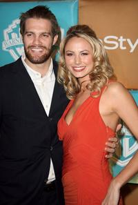 Geoff Stults and Stacy Keibler at the after party of