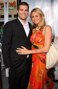 Geoff Stults and Stacy Keibler at the world premiere of