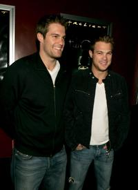 Geoff Stults and George Stults at the premiere of