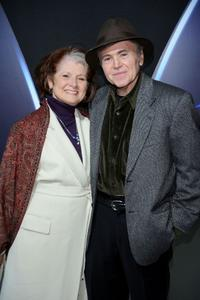 Judy Levitt and Walter Koenig at the DVD release party of