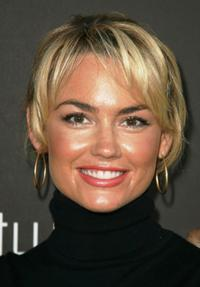 Kelly Carlson at the decades two grand re-opening celebration.