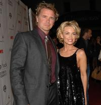 John Schneider and Kelly Carlson at the Season 5 premiere of