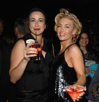Roma Maffia and Kelly Carlson at the after party of the Season 5 premiere of