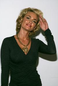 Kelly Carlson at the Randolph Duke Spring 2008 fashion show.