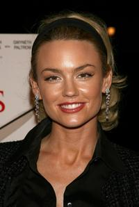 Kelly Carlson at the World premiere of