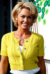 Kelly Carlson at the Barenaked Ladies performance of
