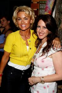 Kelly Carlson and Joely Fish at the Barenaked Ladies performance of