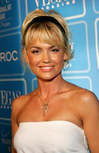 Kelly Carlson at the fourth anniversary party for