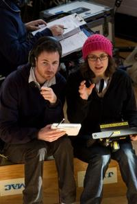 Writer/directors Ryan Fleck and Anna Boden on the set of