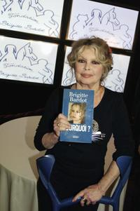 Brigitte Bardot at the 20th Anniversary of her Wildlife Foundation.