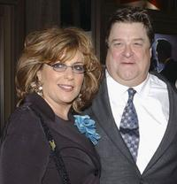 Caroline Aaron and John Goodman at the US premiere of