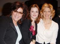 Caroline Aaron, Amber Tamblyn and Chair Joan Hyler at the