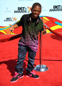 Bobb'e J. Thompson at the 2009 BET Awards in California.