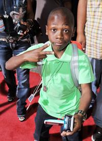 Bobb'e J. Thompson at the premiere of