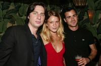 Zach Braff, Amy Ferguson and Justin Theroux at the after party of the New York premiere of