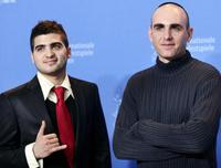 Oshri Cohen and Joseph Cedar at the photocall of
