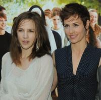Marie Kremer and Cecile de France at the Paris premiere of