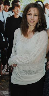 Marie Kremer at the Paris premiere of