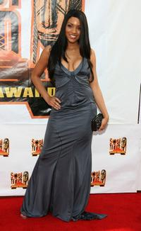 Drew Sidora at the 21st Annual Soul Train Music Awards.