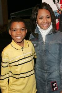 Philip Daniel Bolden and Aleisha Allen at the New York screening of
