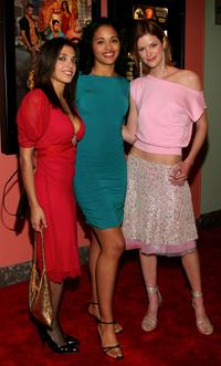 Dani Marco, Elisha Imani Wilson and Sarah Smith at the after party of the premiere of