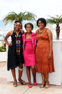 Lerato Mvelase, Khomotso Manyaka and Harriet Manamela at the photocall of
