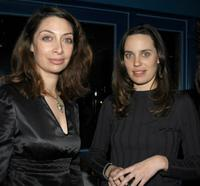 Illeana Douglas and Savannah Haske at the after party of HBO Rising Stars.