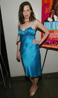 Savannah Haske at the New York premiere of
