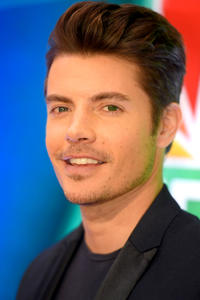 Josh Henderson at the NBCUniversal press junket in New York City.
