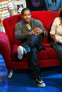 Omarion during MTV's Total Request Live in N.Y.